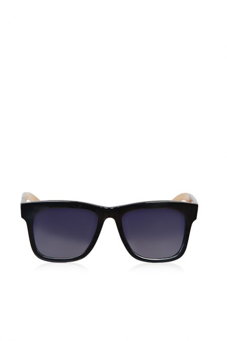 Natural black horn sunglasses