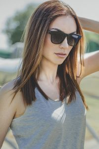 Natural black horn sunglasses 3