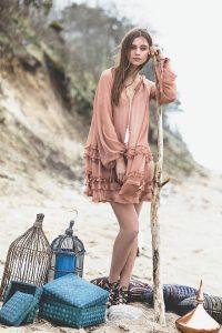 """Natural silk dress """"HIPPY"""" 3"""