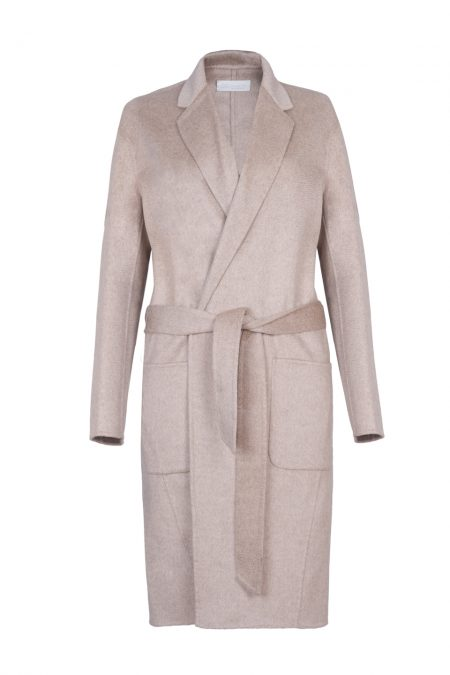 Merino wool & cashmere coat
