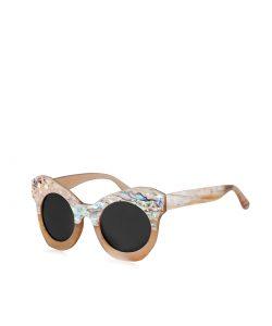 "Natural horn sunglasses ""SHINY"" 2"