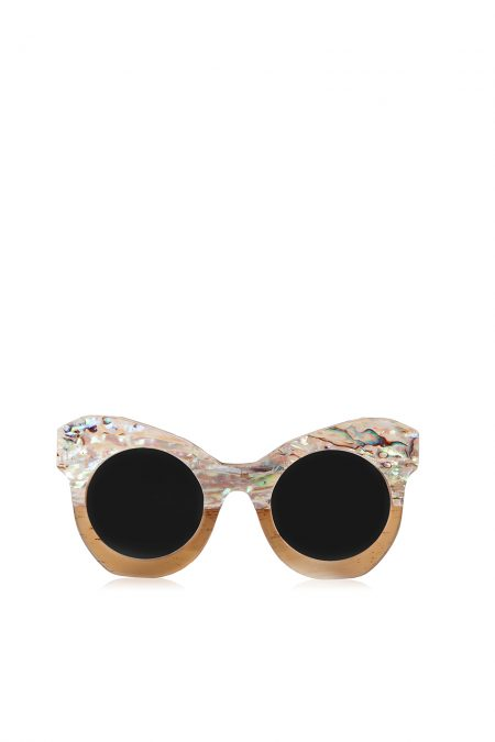 "Natural horn sunglasses ""SHINY"""