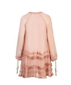 """Natural silk dress """"HIPPY"""" 2"""