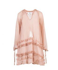 """Natural silk dress """"HIPPY"""" 1"""