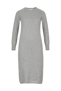 Cashmere olivia dress gray woman coocoomos kašmyro suknė tunika pilka