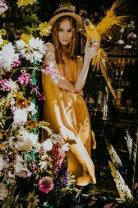 Yellow silk dress woman dress ecological fabric fashion photography coocoomos geltona šilko suknele ekologiskas audinys tunika mados fotografija