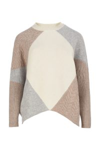 Coocoomos Cashmere sweater nude color natural fabric ecological fabric knitted sweater luxury material kasmyro megztukas naturalus audinys kasmyro vilna ekologiskas audinys sviesi spalva